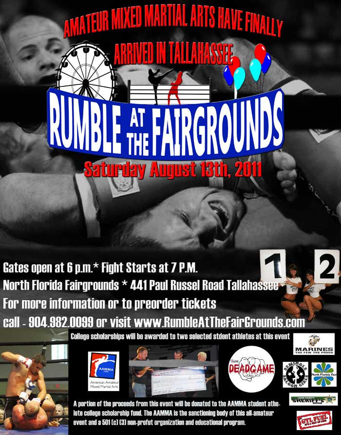 365 things to do in tallahassee fl - the rumble at the fiargrounds