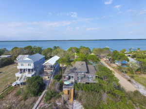 Gulf to Bay Estate with 2 homes for sale.